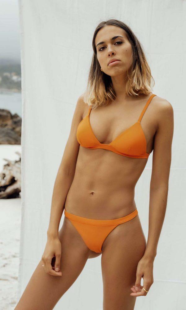 Bikini Maro Naranja de NARE® Swimwear