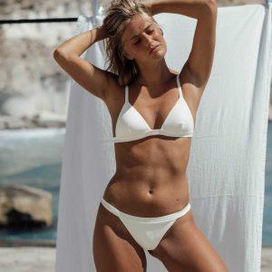 Bikini Maro Blanco, de NARE® Swimwear