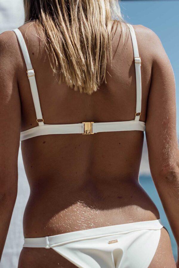 Bikini Maro Blanco, de NARE® Swimwear - Vista trasera