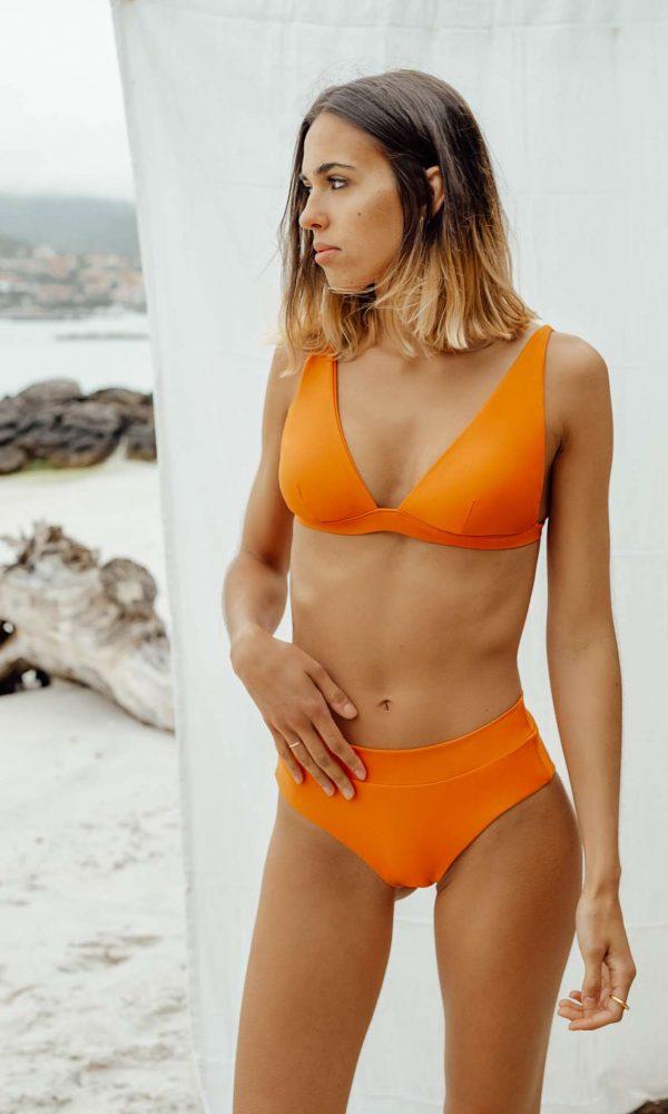 Bikini Nerga Naranja de NARE® Swimwear