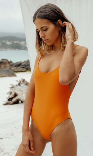 Bañador Roche Naranja de NARE® Swimwear