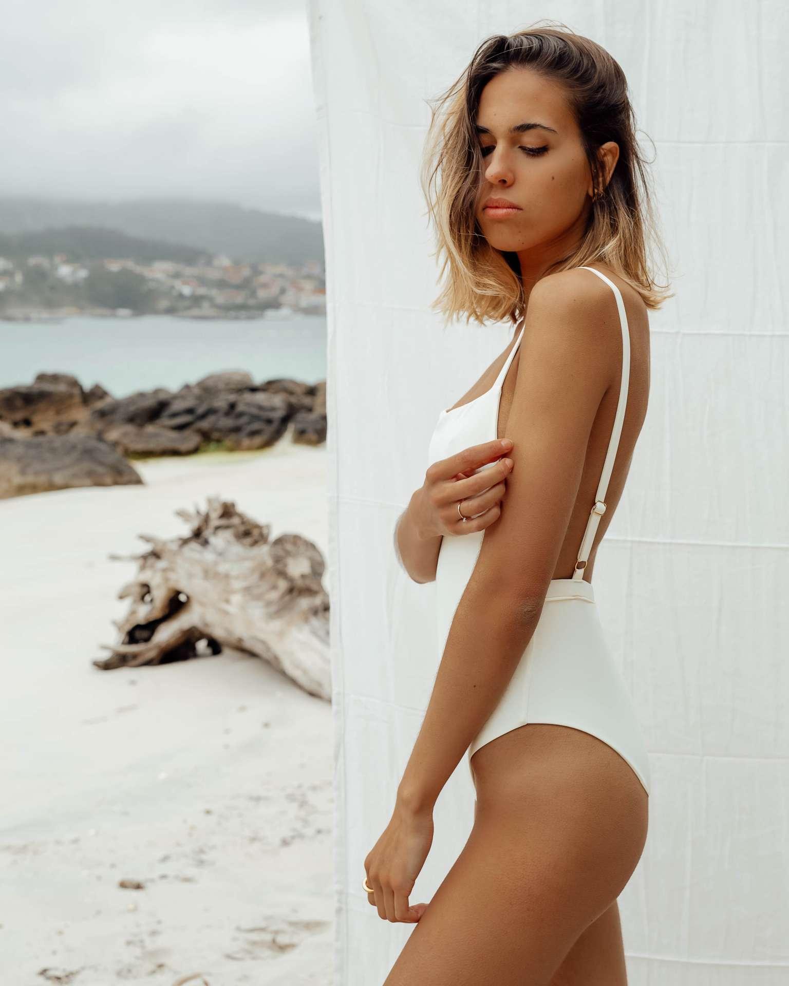 Bañador Vao Blanco de NARE® Swimwear