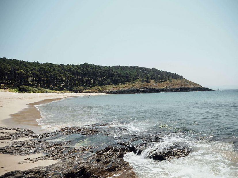 Playa Nerga, Pontevedra