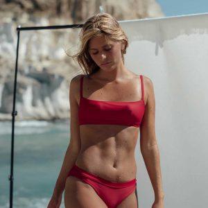 Bikini Falesia Rojo de NARE® Swimwear