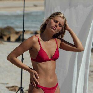 Bikini Maro Rojo de NARE® Swimwear