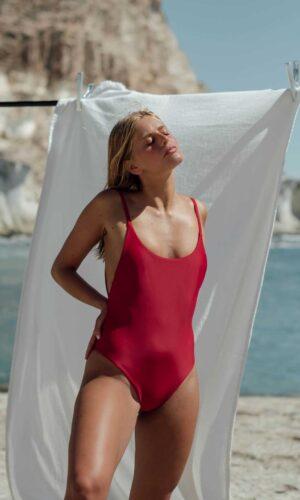 Bañador Roche Rojo de NARE® Swimwear